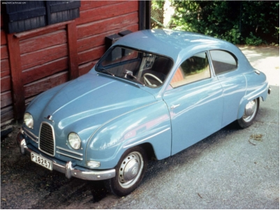 Mr first car, a 1959 Saab 93