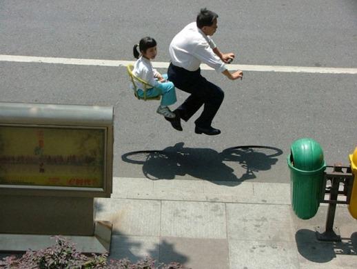 Chinese air-bike
