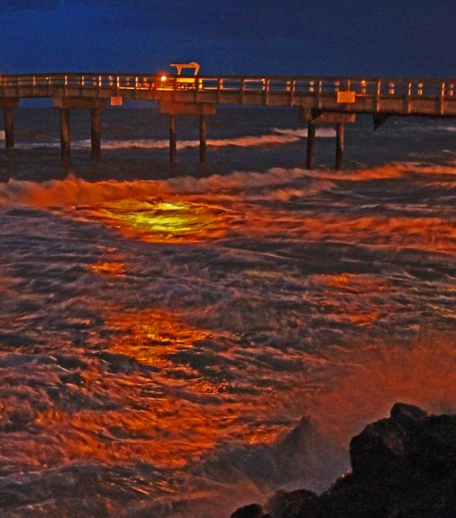 Evening, off St. Augustine Island